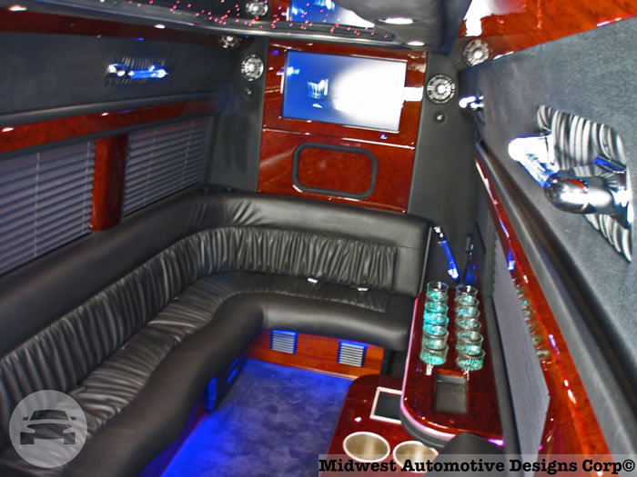 Executive Sprinter Shuttle Van Van  / Dallas, TX   / Hourly $0.00