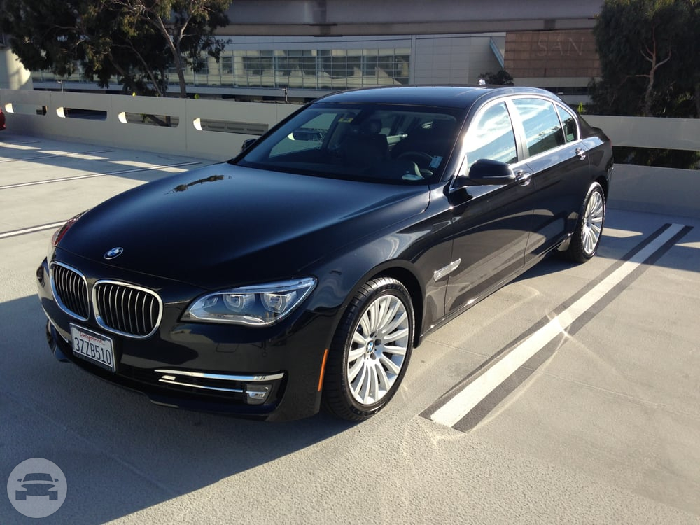 BMW 750Li Sedan  / Houston, TX   / Hourly (Concert) $100.00  / Hourly (Other services) $100.00  / Hourly (Wedding) $120.00