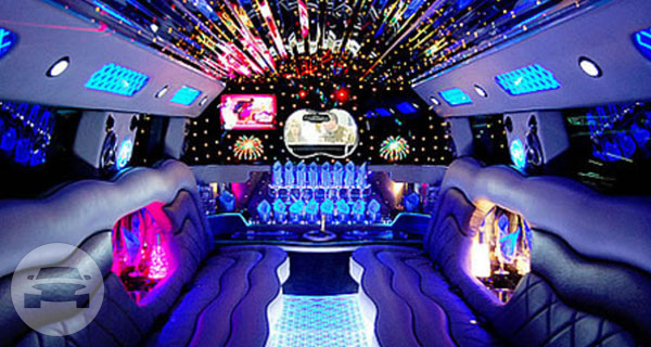 White Cadillac Escalade Limo Limo  / Erie, CO   / Hourly $0.00