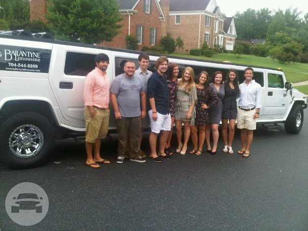 H2 HUMMER LIMO - TRIPLE X WHITE H2 Hummer  / Charlotte, NC   / Hourly (Other services) $110.00