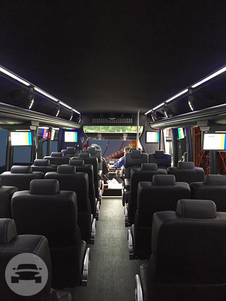37 seater Shuttle Mini Coach Party Limo Bus  / San Bruno, CA   / Hourly $0.00