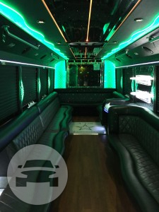 TITAN GMC 5500 Luxury Party Bus Party Limo Bus / Royal Oak, MI   / Hourly $0.00