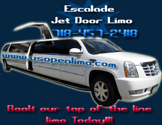 Cadillac Escalade Jet Door - White 18 Passenger Limo  / New York, NY   / Hourly $0.00