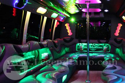 Vegas Baby - Party Bus Party Limo Bus  / Los Angeles, CA   / Hourly $0.00
