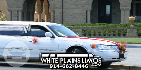 White Stretch Lincoln Limousine Limo  / New York, NY   / Hourly $0.00