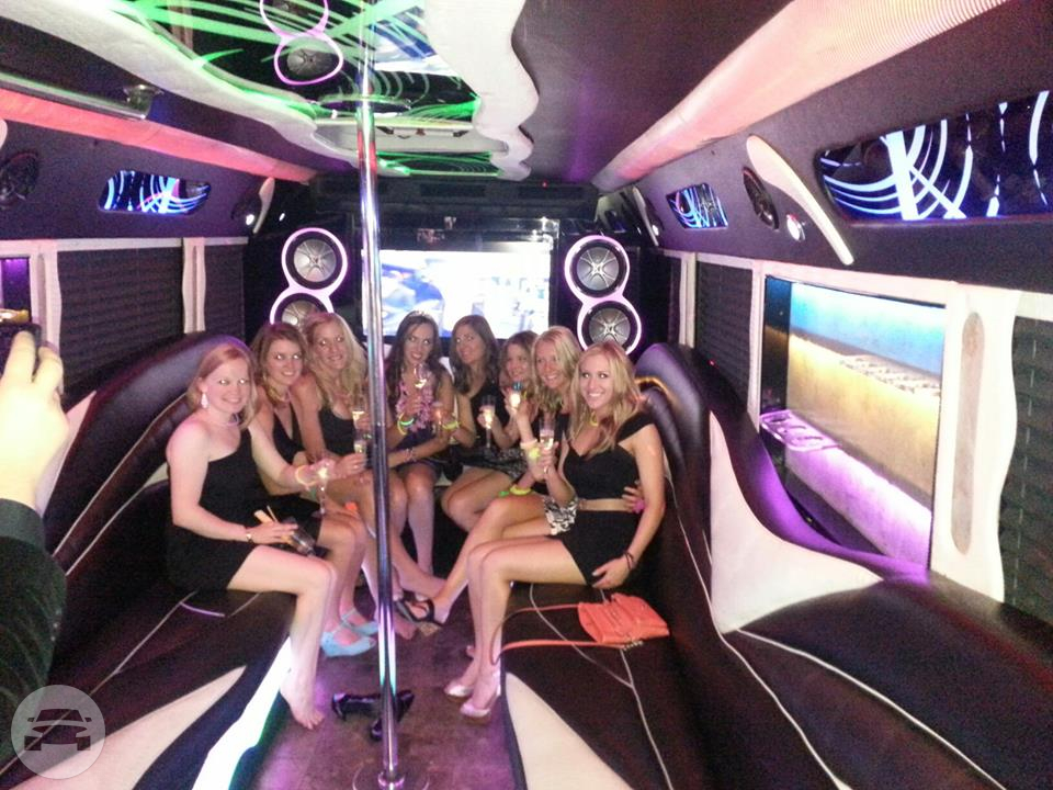 DARK ANGEL PARTY BUS Party Limo Bus  / Las Vegas, NV   / Hourly $0.00