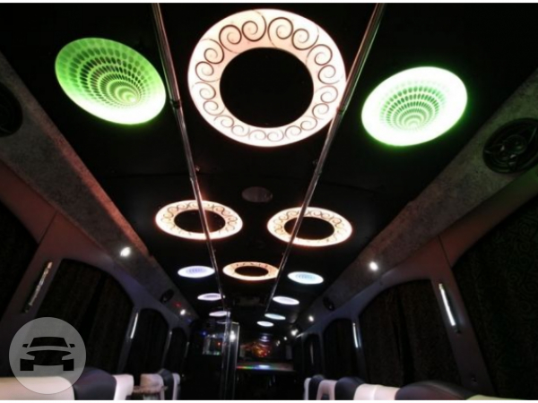 40 Passenger Party Bus Party Limo Bus  / Marietta, GA   / Hourly $0.00