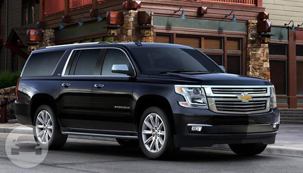BLACK CHEVROLET SUBURBAN | A Step Above Limousine Service ...