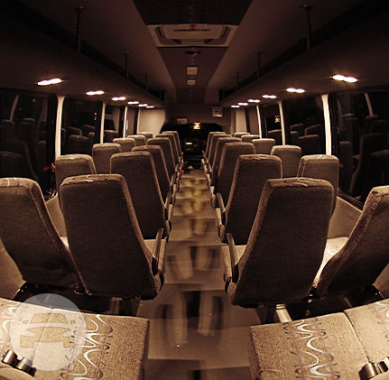 White Shuttle Bus - 32 Passenger Coach Bus  / Stafford, TX 77477   / Hourly $0.00