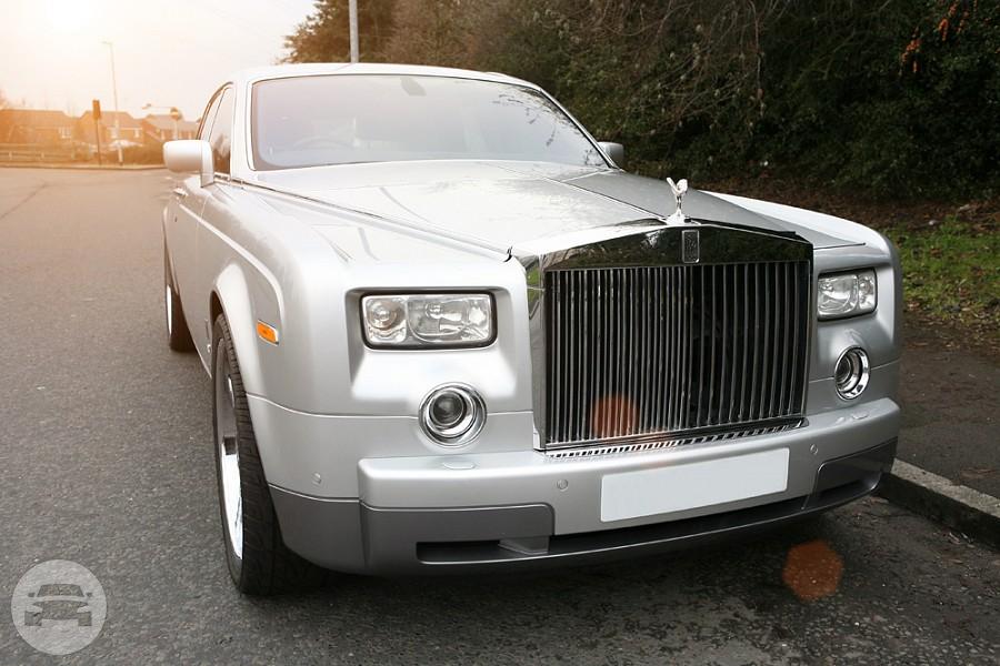 Silver Rolls Royce Phantom   Millennium Limousine Service ...