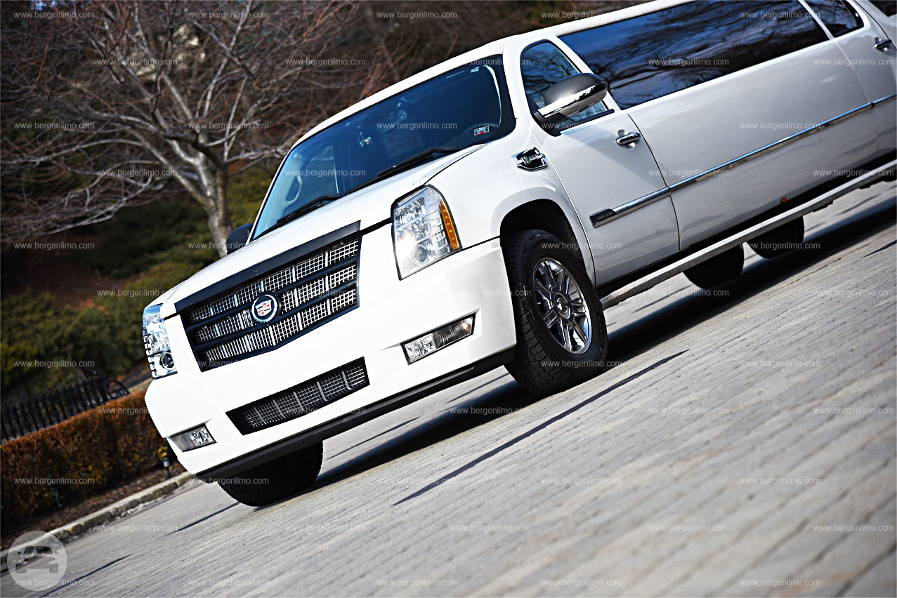 Tandem Double Axle New Jersey Vip Cadillac Escalade Bergen Limo