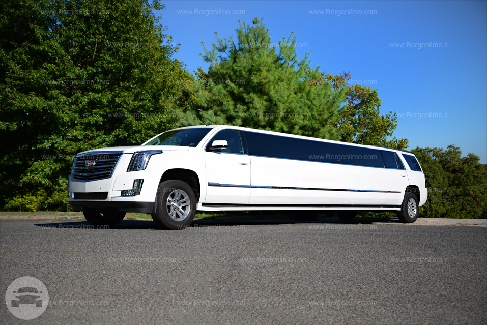 ... White Cadillac Escalade Limousine with Jet Doors Limo / Paterson NJ / Hourly $0.00 ... & White Cadillac Escalade Limousine with Jet Doors | Bergen Limo ...