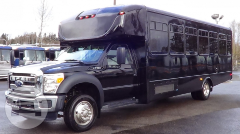BRAND NEW FORD F550 EXECUTIVE  VIP SHUTTLE BUS Coach Bus / Seattle, WA   / Hourly $0.00