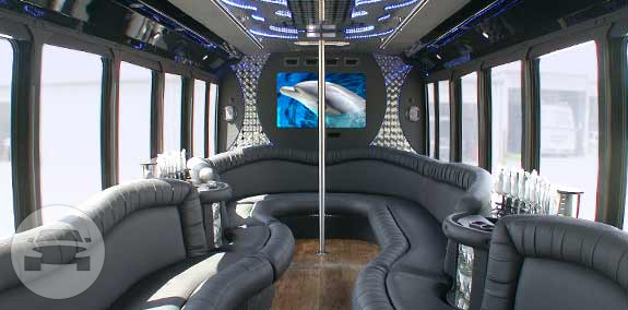 24 Passenger Limo Bus Party Limo Bus / Phoenix, AZ   / Hourly $180.00