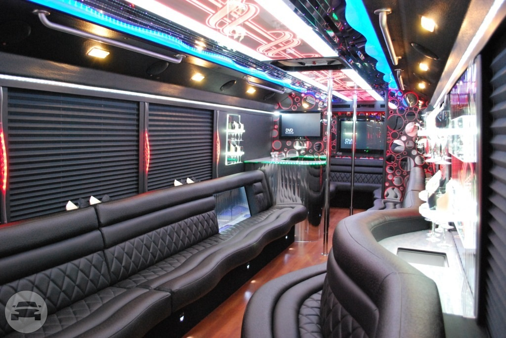 Party Bus 26 Pax Party Limo Bus / West New York, NJ 07093   / Hourly $0.00