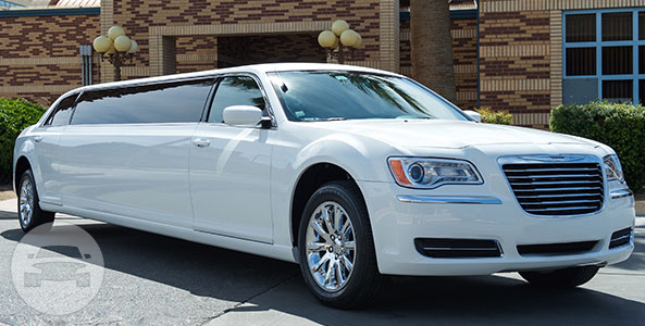 8-PASSENGER CHRYSLER WHITE LIMO Limo  / South Lake Tahoe, CA   / Hourly $80.00