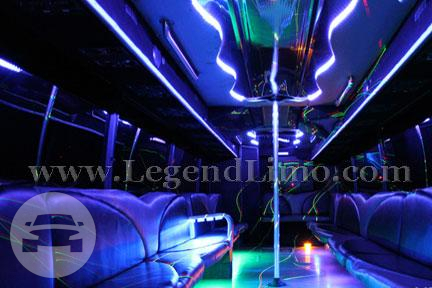 Party Bus - Stallion Party Limo Bus  / Los Angeles, CA   / Hourly $0.00