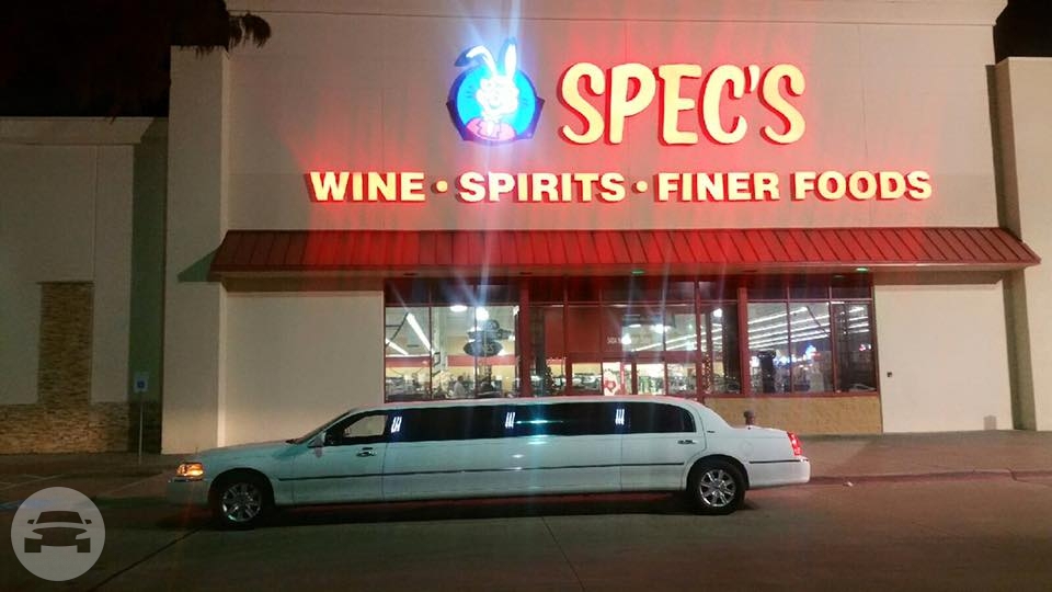 Classic White Lincoln Town Car Limousine Limo / The Colony, TX   / Hourly $0.00