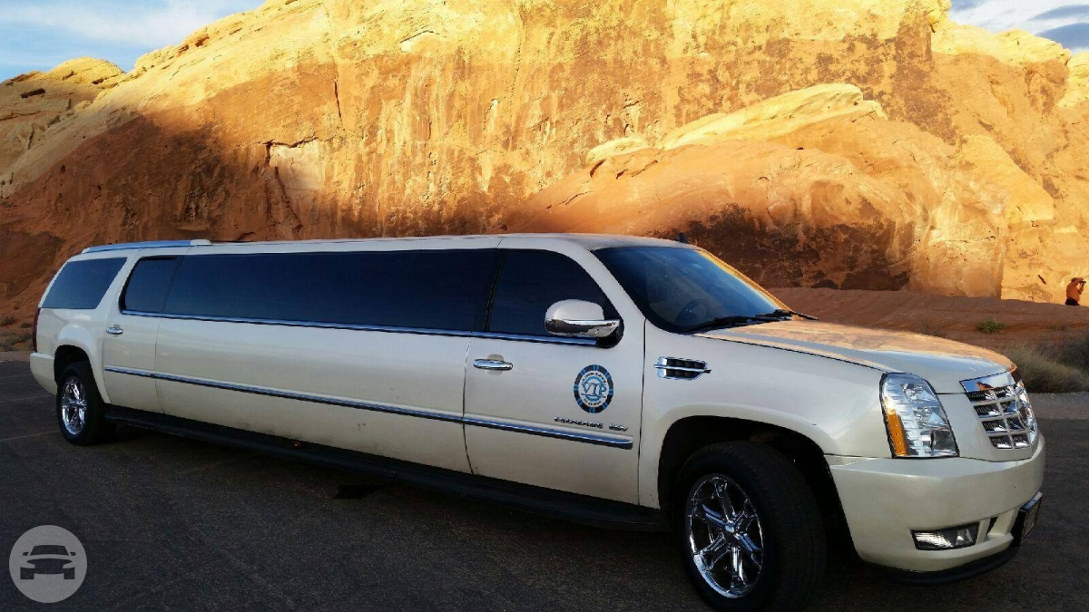 Stretch White Cadillac - 14 Person   VIP Limousines of ...