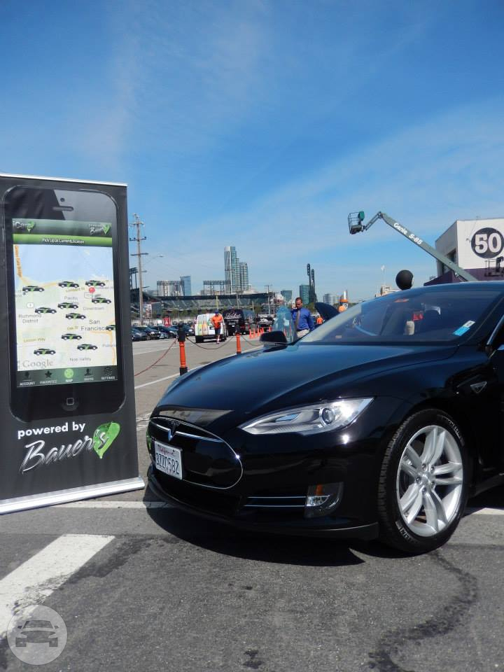Executive Tesla (seats up to 3 passengers) Sedan / San Francisco, CA   / Hourly $54.00