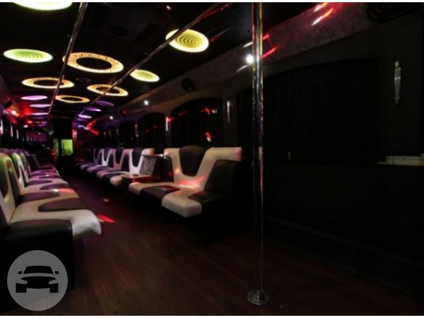 40 Passenger Party Bus Party Limo Bus  / Atlanta, GA   / Hourly $0.00