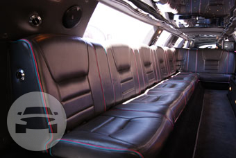 10-14 Passenger White Lincoln Limousine Limo / Half Moon Bay, CA   / Hourly $0.00