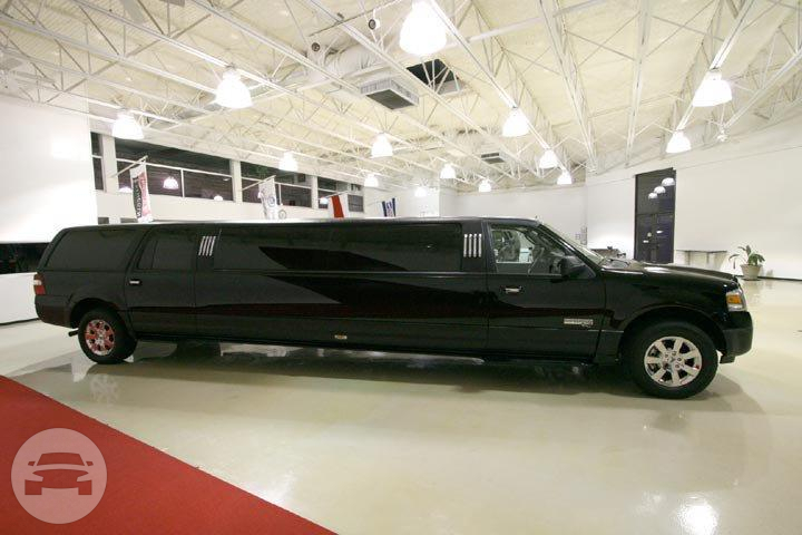 14 PASSENGER SUV LIMO (BLACK) Limo  / The Woodlands, TX   / Hourly $125.00