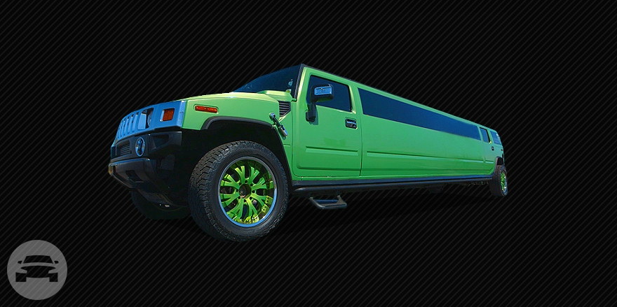 Synergy Green Stretched Hummer Limo 24 7 Limousines Online