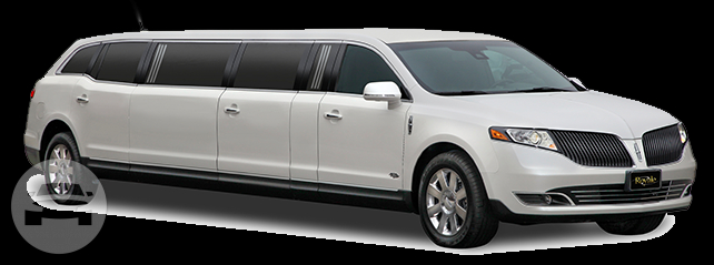 Lincoln Mkt Stretch Limousine White Luxor Limo Nyc