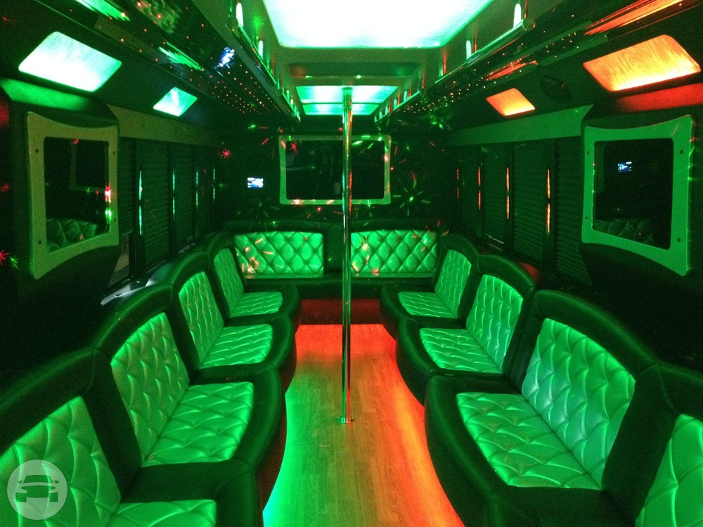 THOR Ford F650 Luxury Party Bus Party Limo Bus / Plymouth, MI 48170   / Hourly $0.00
