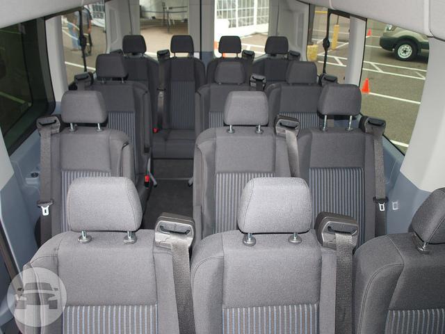 14 Passenger Ford Transit Epic Limo Inc Online Reservation