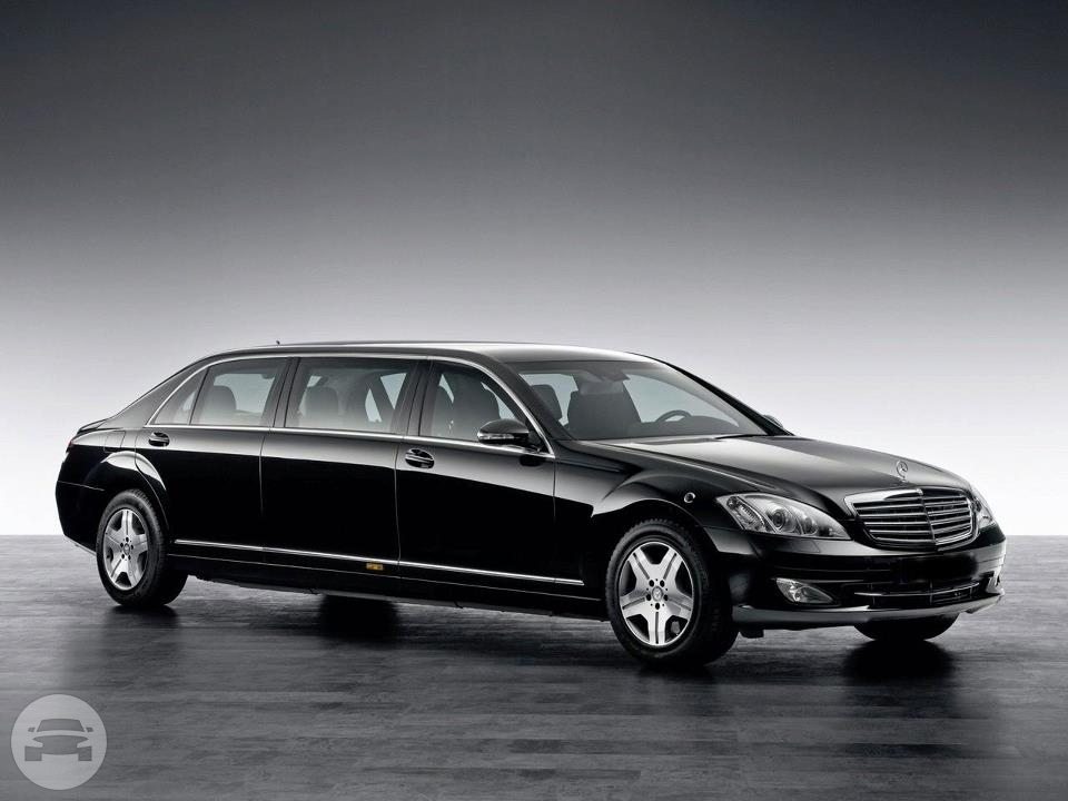 Mercedes-Benz S600 Guard Pullman Limousine | Limo in Miami, LLC ...