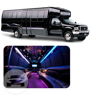Party Bus (30 Passenger) Party Limo Bus  / Parsippany-Troy Hills, NJ   / Hourly $0.00