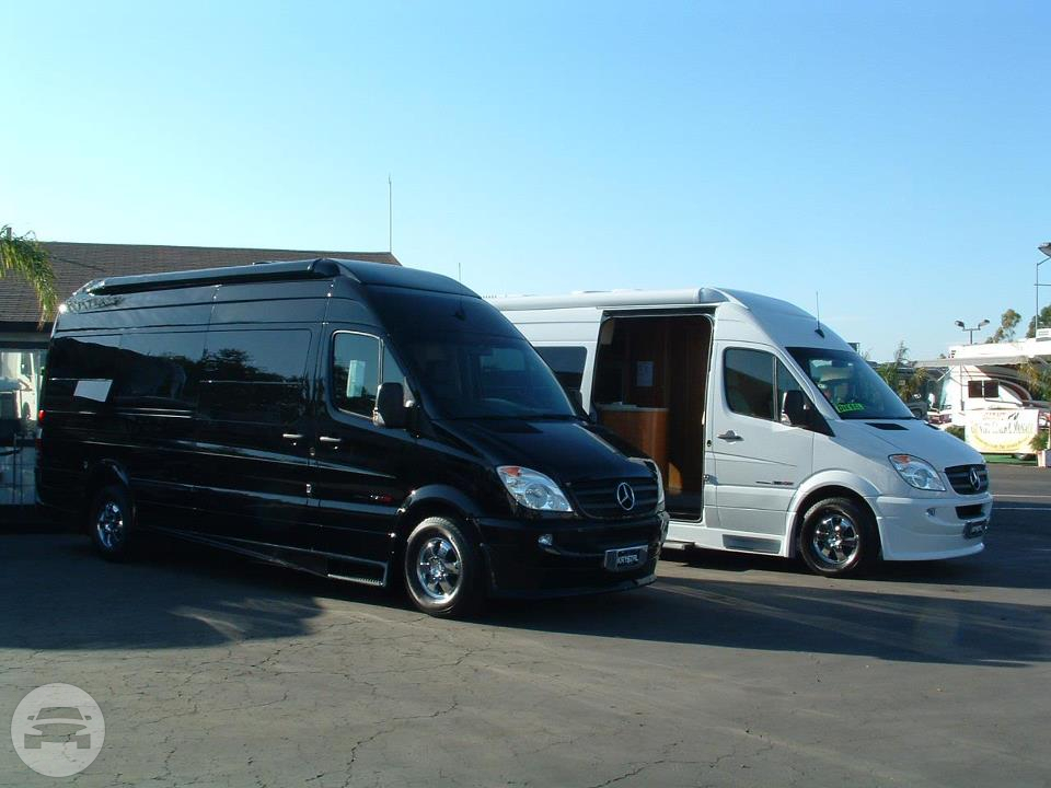 Mercedes Sprinter Executive Van Van / Hayward, CA   / Hourly $125.00