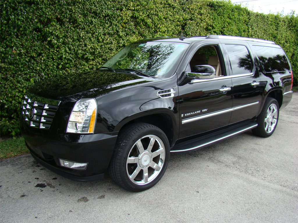 Black Cadillac Escalade Suv Norfolk Va Hourly 0 00