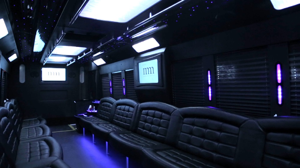 29 Passenger Limo Bus Party Limo Bus / Wheaton, IL   / Hourly $0.00