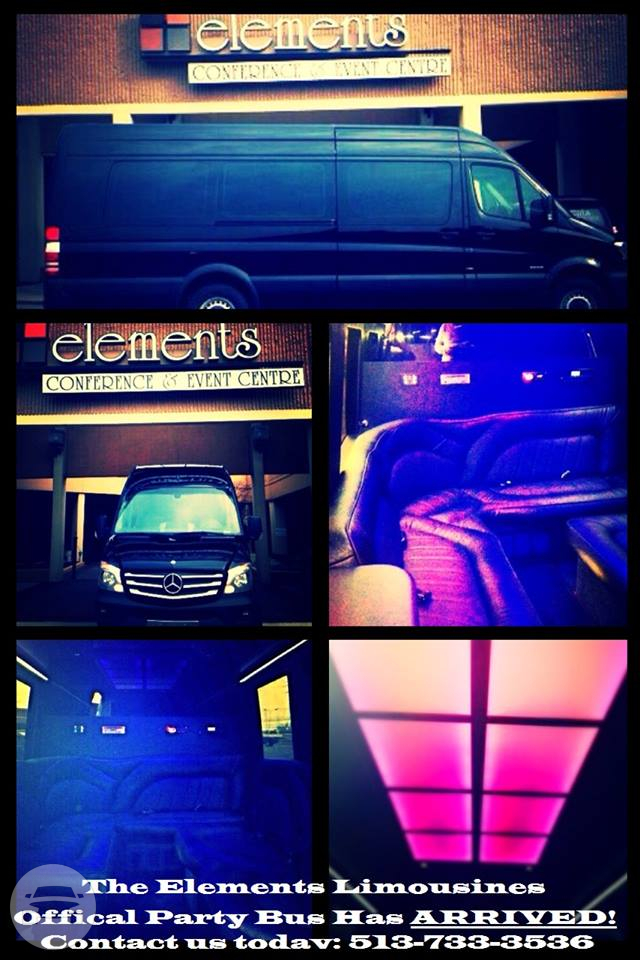 Mercedes Sprinter Party Bus  Van / Cincinnati, OH   / Hourly $0.00