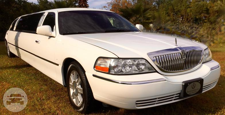 6 10 Passengers White Lincoln Town Car Limousine First Class Limo