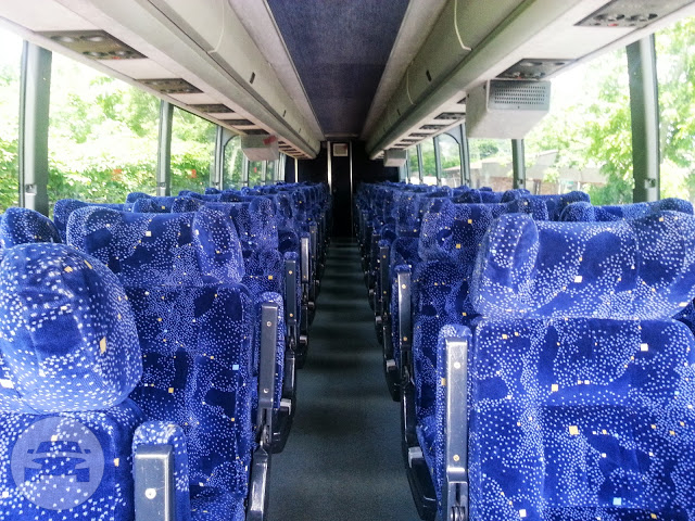 54 Passengers Executive Bus Coach Bus / Atlantic City, NJ   / Hourly $0.00