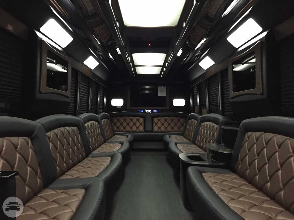 Tiffany Ford F550 Luxury Party Bus A List Limo Party Bus Online Reservation