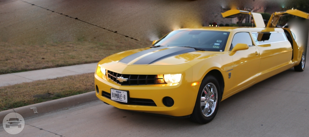 The Yellow Camaro 8 Passengers Classy Limousine Limo  / Dallas, TX   / Hourly $0.00