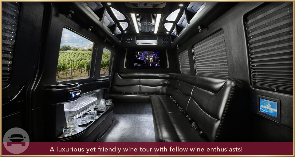 10 PERSON SPRINTER LIMO Limo  / Napa, CA   / Hourly $0.00
