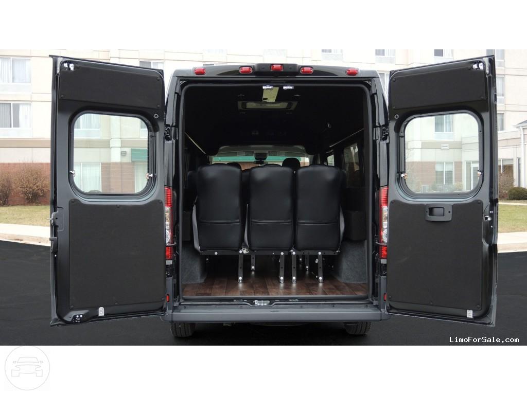 Ram Promaster Vip Shuttle Coach Up To 12 Passenger Coach A A
