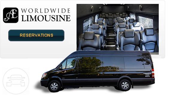 18 Passenger Van >> Mercedes Benz 18 Passenger Luxury Sprinter Van A E