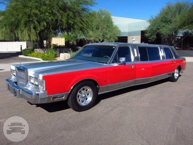 1988 Lincoln Town Car Encore Limousine Service Online Reservation