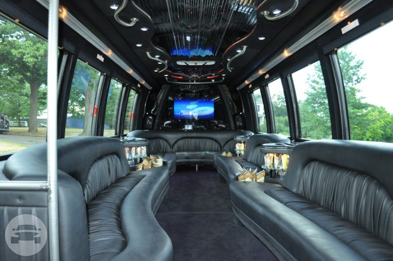 Party Bus - 28 Passenger Party Limo Bus  / New York, NY   / Hourly $0.00