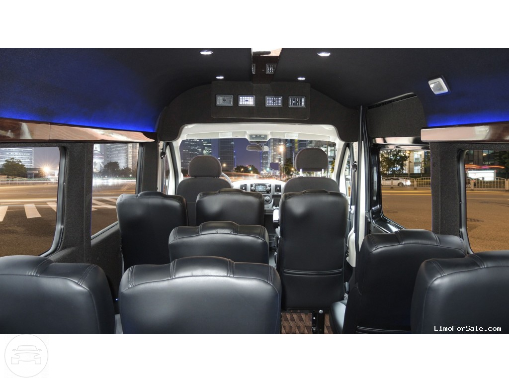 Ram Promaster Vip Shuttle Coach Up To 12 Passenger Coach
