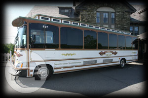 35 seater Limo Trolley Coach Bus  / Boston, MA   / Hourly $225.00