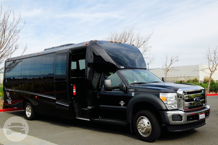 Luxury Shuttle Bus 27 Seater Coach Bus / San Jose, CA   / Hourly $0.00