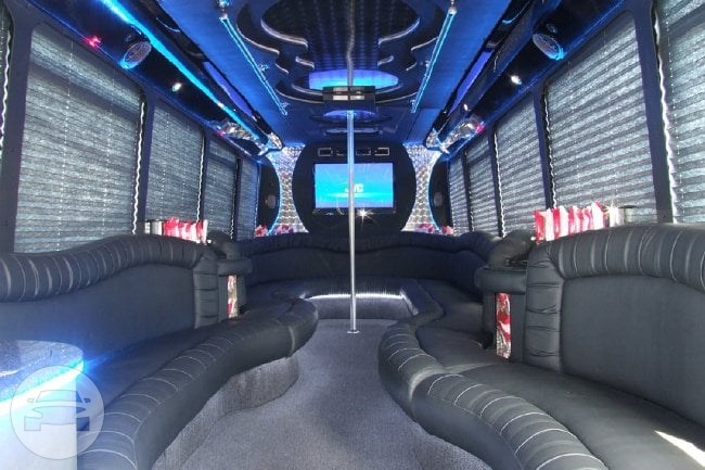 35 Passenger Party Bus Party Limo Bus  / Orlando, FL   / Hourly $0.00